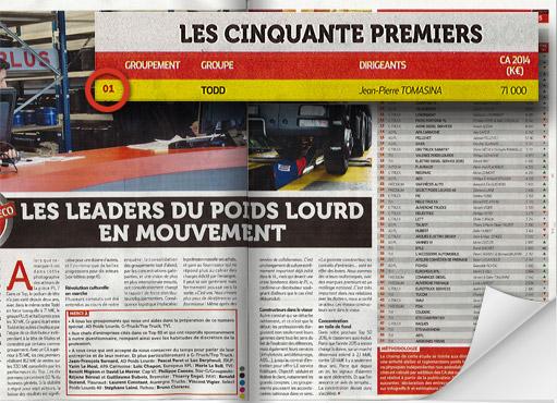 Magazine Zepros - Hors Série 2016 - Article classement des 50 premiers acteur du marché VI