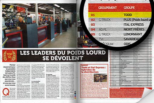 Magazine Zepros - Novembre 2014 - Article 2 sur le groupe TODD